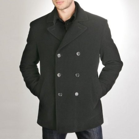 mens wool-blend-pea-coat-black-discountedcheapdeals dot com