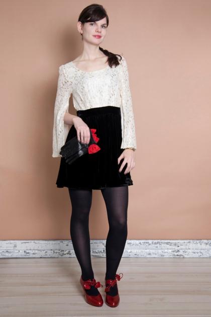 http://blog.modcloth.com/2012/12/05/dressed-to-dazzle-3-holiday-dresses-3-ways/